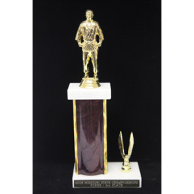 "Column Trophy  - 12"" Overall Height"